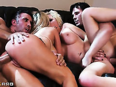 Nikki Benz  Alexis Ford and Keiran Lee