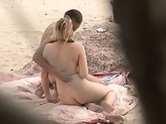 Nude Beach - Cute Hot Blond - Reluctant to Enthusiastic