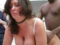 Classy cheating MILF wife got roughly fucked by hung black bull