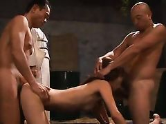 geisha mistress watches the slut slave get fucked