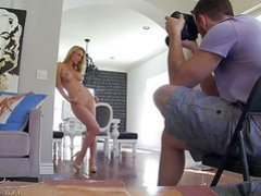 Kayden Kross is s beautiful adult model with well shaped