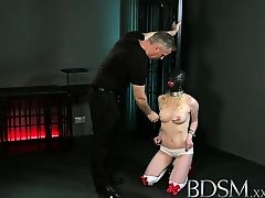 BDSM XXX Master White shows subs that the only way is the hardcore way