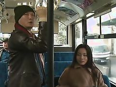 japanese slut gets fingered on the bus
