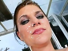 FACES OF CUM : Abbie