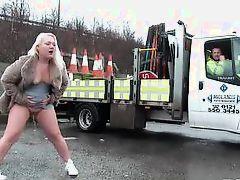 pornxn mature blonde public