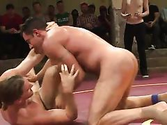sexy gay boys fuck each other in the ring