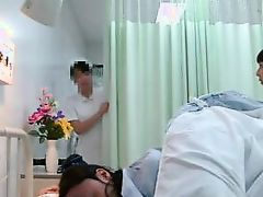 nurse exams his asshole