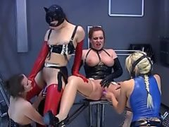 lesbian latex party