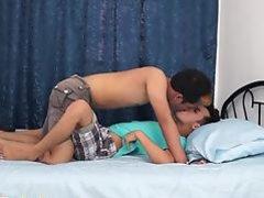 Asian twinks bareback analsex before cumshot