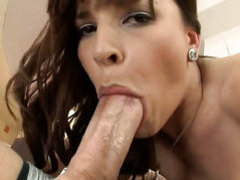 Brunette in heels Dana De Armond gets ass fucked
