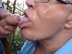 Heavy Cummer Facial