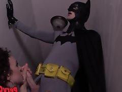 Demon Lilith Seduces Batman CHRISTIAN WILDE + LILITH LUXE