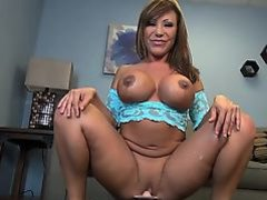 Ava Devine Rides the Sybian and DPs