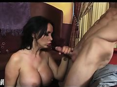 Gorgeous Woman In Red Dress Gets Fucked Silly Nikki Benz