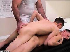 Gay xxx video clip blowjobs Elder Xanders woke up and got