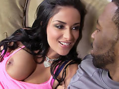 Busty Bruntte Anissa Kate Loves Big Black Cock
