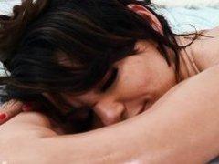 horny masseur seduced a busty milf