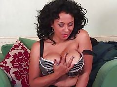 european mature with enormous melons could use a pride