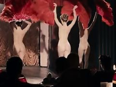 Cabaret Rouge fan dance