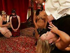 teaching sticky sluts inexperienced tricks