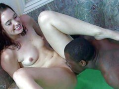 Jodi Taylor is a petite pale skinned teen girl that